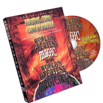Folding Coin - Coin In Bottle (World's Greatest Magic) - DVD